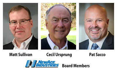NewAge Industries Board of Directors